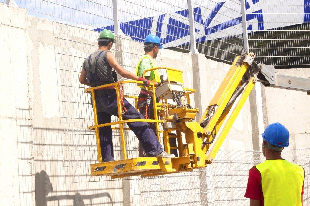 construction men at work