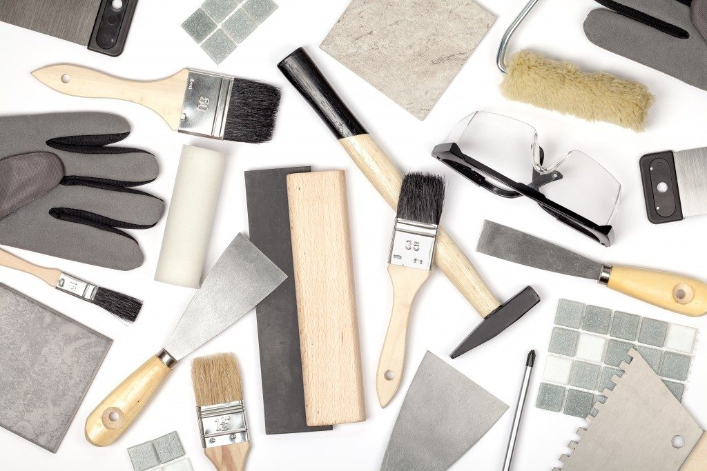 Home renovation tools and equiptments