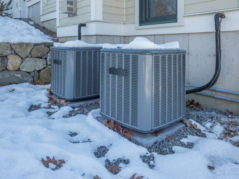 hvac system during winter