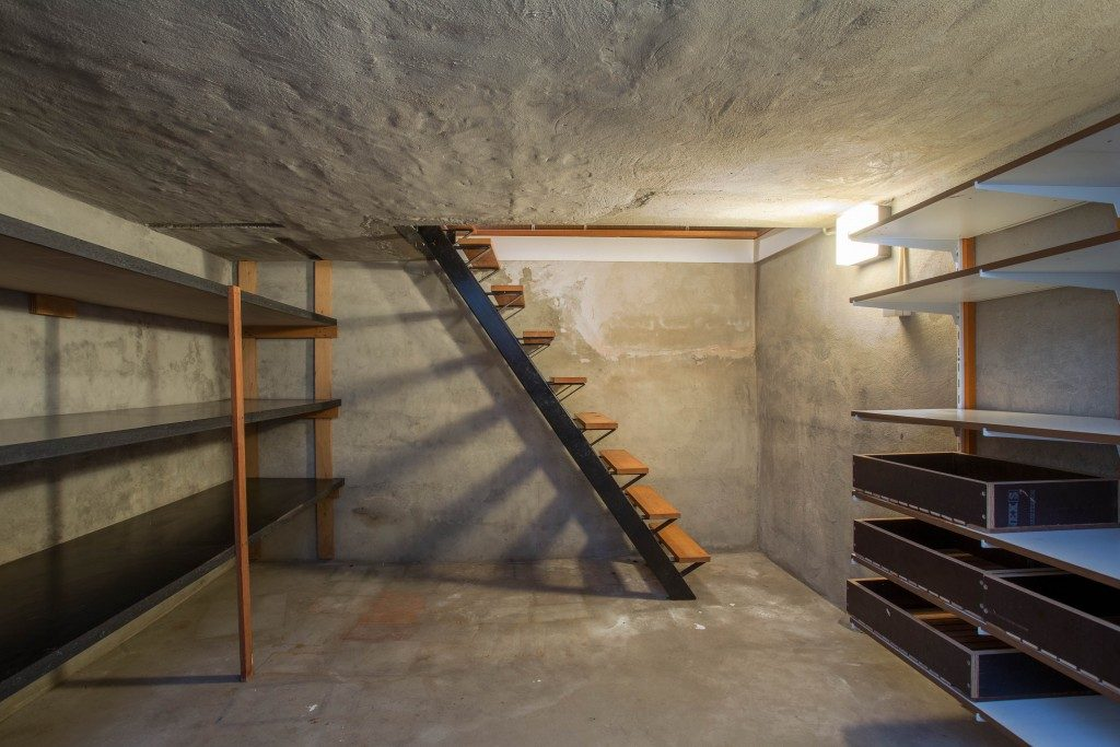 basement of a house