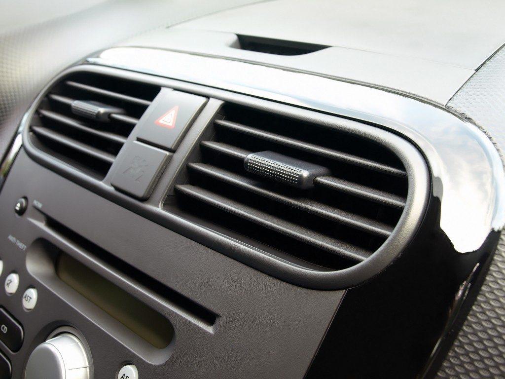 AC unit of a car
