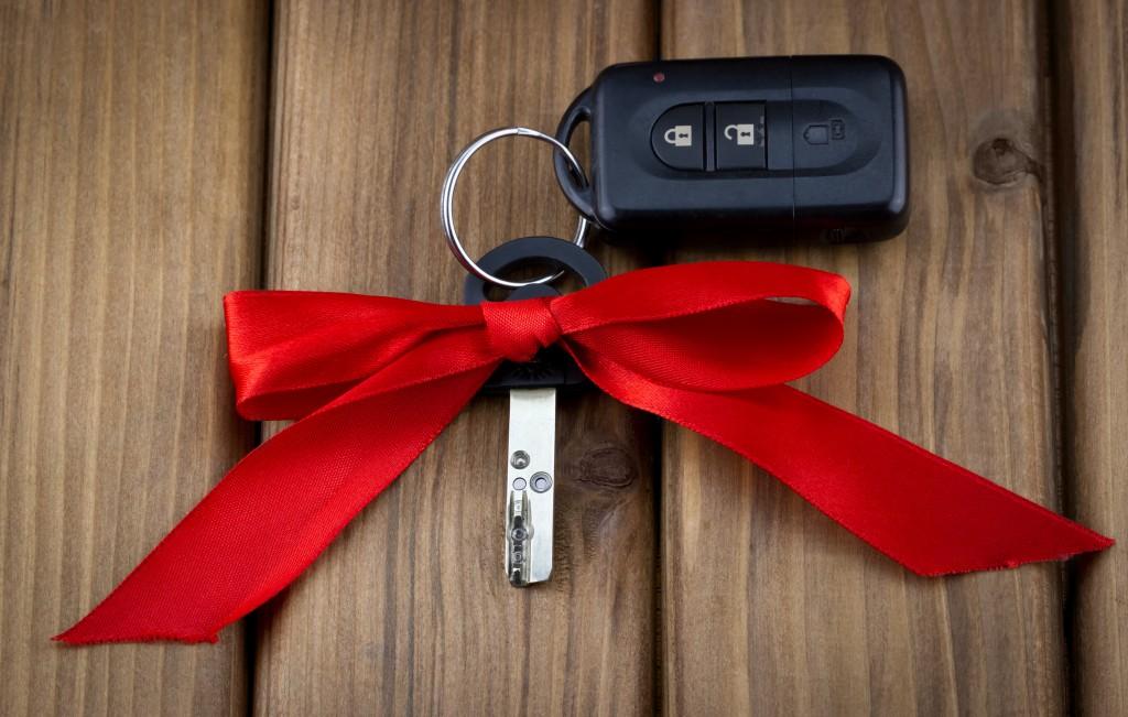 car keys to dream car