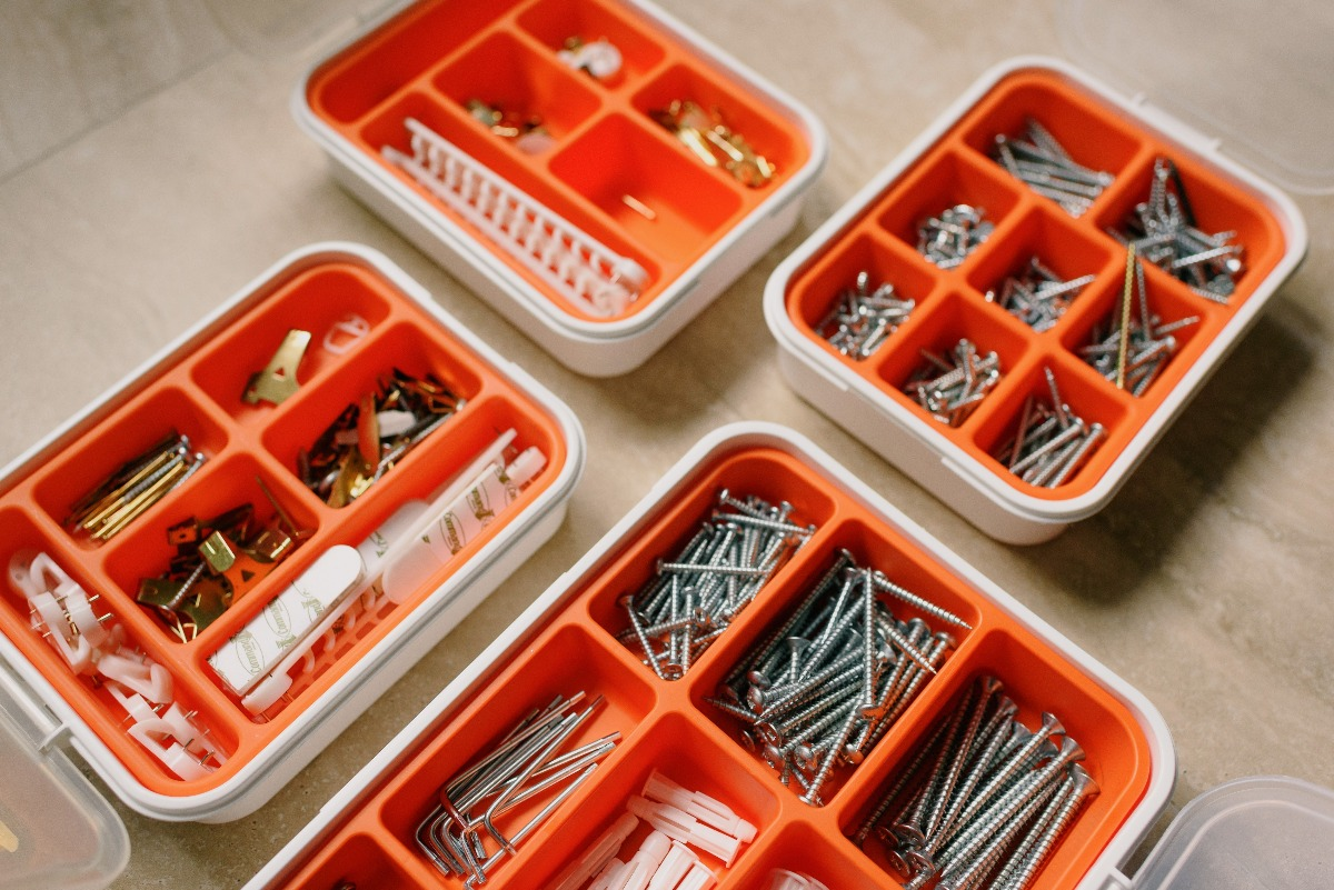 nails and other small tools