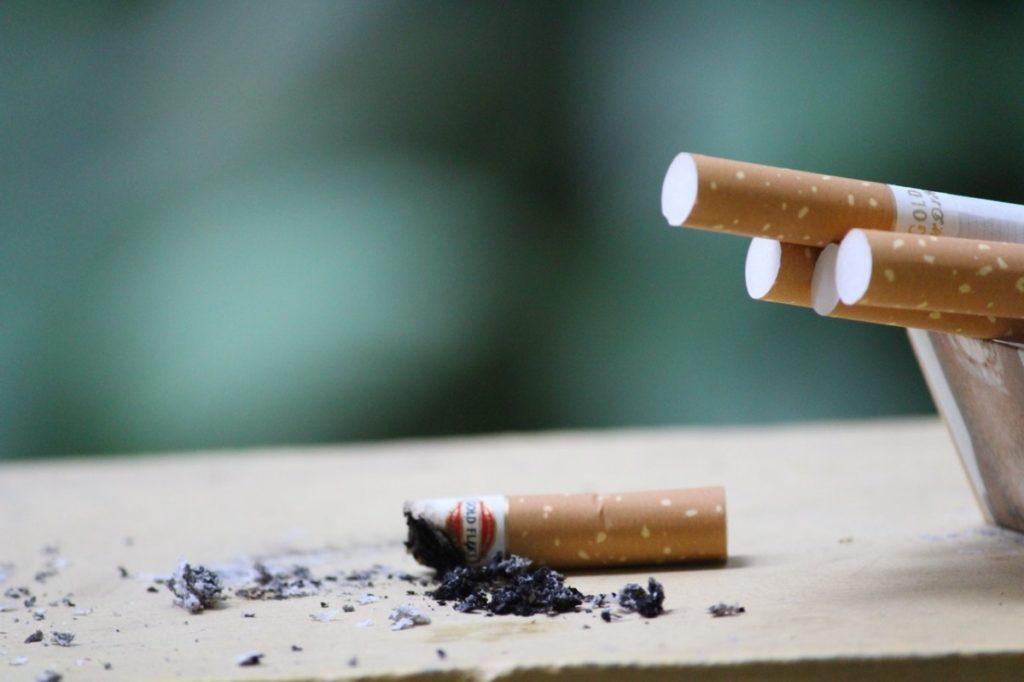 used cigarettes
