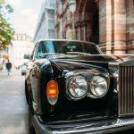 classic luxury car